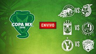 EN VIVO y EN DIRECTO: Copa MX J4 Miércoles