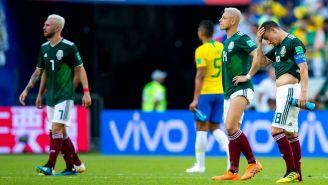 México lamenta derrota contra Brasil en Rusia 2018