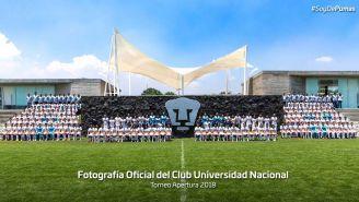 FOtografía oficial del club Pumas