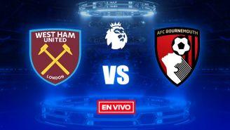 EN VIVO y EN DIRECTO: West Ham vs Bournemouth