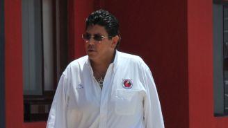 Kuri Grajales previo a un evento con Veracruz