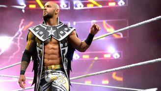 Ricochet antes de una lucha en NXT