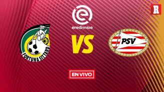 EN VIVO Y EN DIRECTO: Fortuna Sittard vs PSV