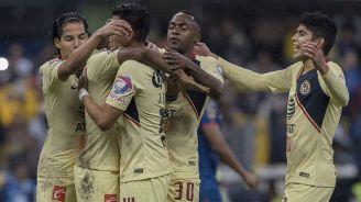 América celebra un gol en el Apertura 2018