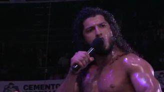 Rush durante una función del CMLL