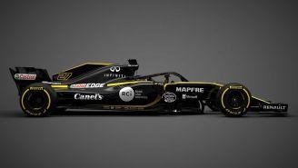 El monoplaza de Renault F1 Team