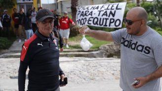 Aficionados de Atlas protestan vs directiva y jugadores