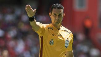 César Arturo Ramos, en el juego entre Toluca y Chivas del A2018