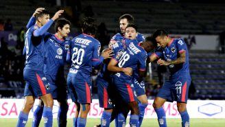 Monterrey festeja triunfo contra Lobos BUAP en la J6