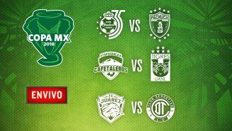 EN VIVO Y EN DIRECTO: Copa MX Jornada 5 miércoles