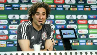 Ochoa, en conferencia de prensa