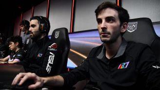 Genthix, soporte de R7, durante la partida contra Pixel Esports Club