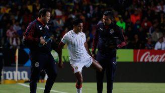 Chapo Sánchez después de salir del encuentro