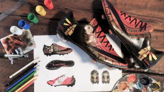 Así lucen unos zapatos con diseños especiales de Lilian Cantero