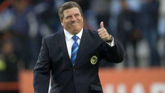 Herrera se muestra contento y lanza mensaje positivo a la afición