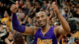 Kobe Bryant celebra triunfo con Lakers