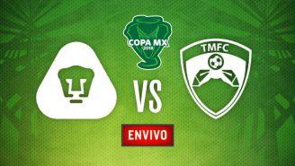 EN VIVO Y EN DIRECTO: Pumas vs Tampico Madero