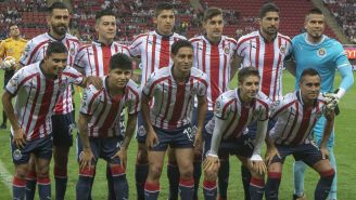 Once de Chivas que enfrentó a Tuzos en Liga MX