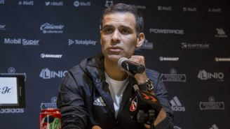 Rafa Márquez durante conferencia de prensa