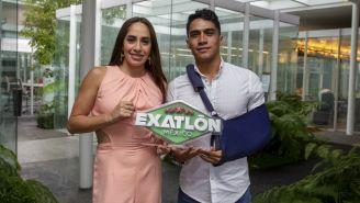 Tamara Vega y Julio García fueron eliminados del Exatlón