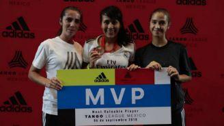 Ganadora del MVP del Tango League México