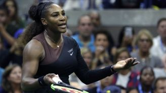 Serena Williams, molesta tras perder la Final del US Open