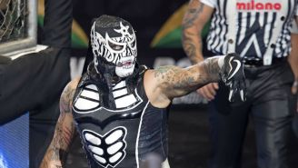 Pentagón Jr. hace su arribo a Triplemanía XXVI