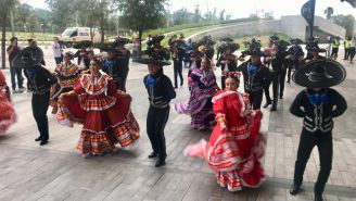 Se vivió una fiesta mexicana en las inmediaciones del Estadio BBVA