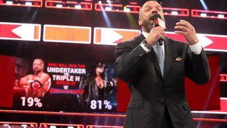Triple H en un show de RAW