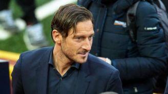 Francesco Totti, durante un evento público