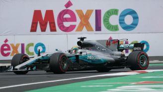 Monoplaza de Lewis Hamilton en el AHR en el GP de México 2017