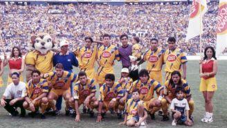 Plantilla de Tigres en 1996