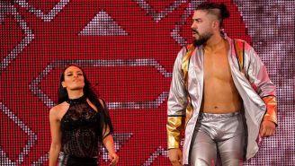 Andrade 'Cien' Almas y Zelina Vega entran al ring