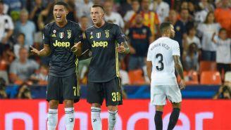 Cristiano Ronaldo consideró injusta su expulsión ante el Valencia
