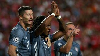 Bayern Munich festeja gol de Renato Sanches