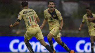 Jorge Sánchez celebra anotación vs Monarcas