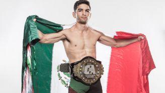 José Alday, primer Campeón Mundial de Combate Américas