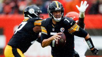 Ben Roethlisberger en partido con Steelers