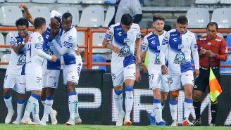 Tuzos festejan un gol en el Apertura 2018