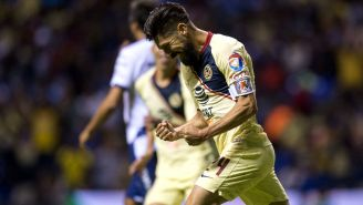 Oribe Peralta, efusivo tras gol en el Cuauhtémoc