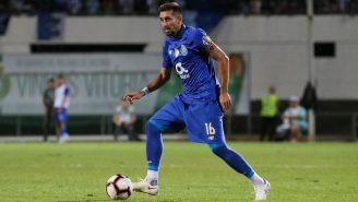 Herrera, con la posesión del balón en la Liga de Portugal