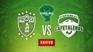 EN VIVO y EN DIRECTO: Pachuca vs Cafetaleros