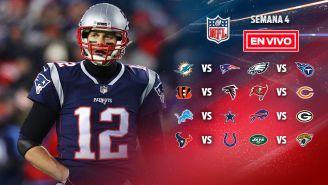 EN VIVO y EN DIRECTO: NFL Domingo Semana 4