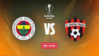 EN VIVO Y EN DIRECTO: Fenerbahce vs Spartak Tmava
