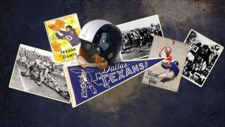 Imágenes históricas de los Dallas Texans de 1952