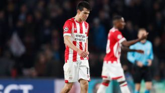Lozano se lamenta tras caer en juego del PSV