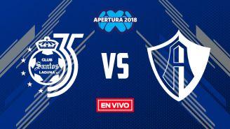EN VIVO Y EN DIRECTO: Santos vs Atlas