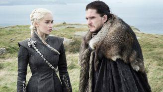 Escena en la que Khaleesi se encuentra con Jon Snow