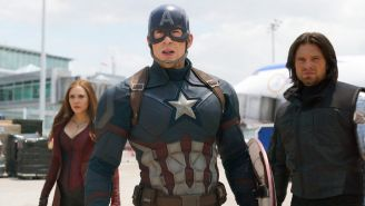 Chris Evans interpreta al Capitán América en Civil War