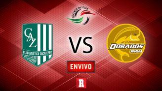 EN VIVO Y EN DIRECTO: Zacatepec vs Dorados